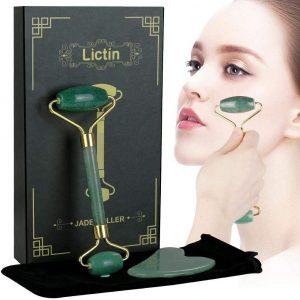 Rodillo de jade facial